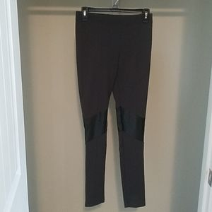 Victoria's secret dark gray and black leggings